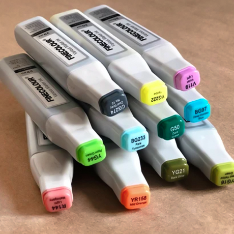Заправки FINECOLOUR REFILL INK 240 цветов